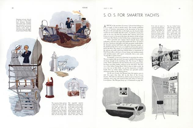 S. O. S. for Smarter Yachts