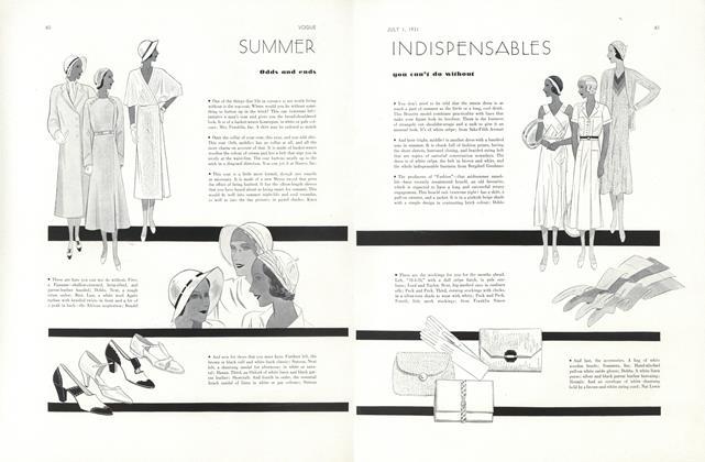 Summer Indispensables