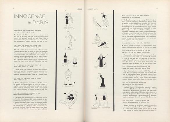 Innocence in Paris