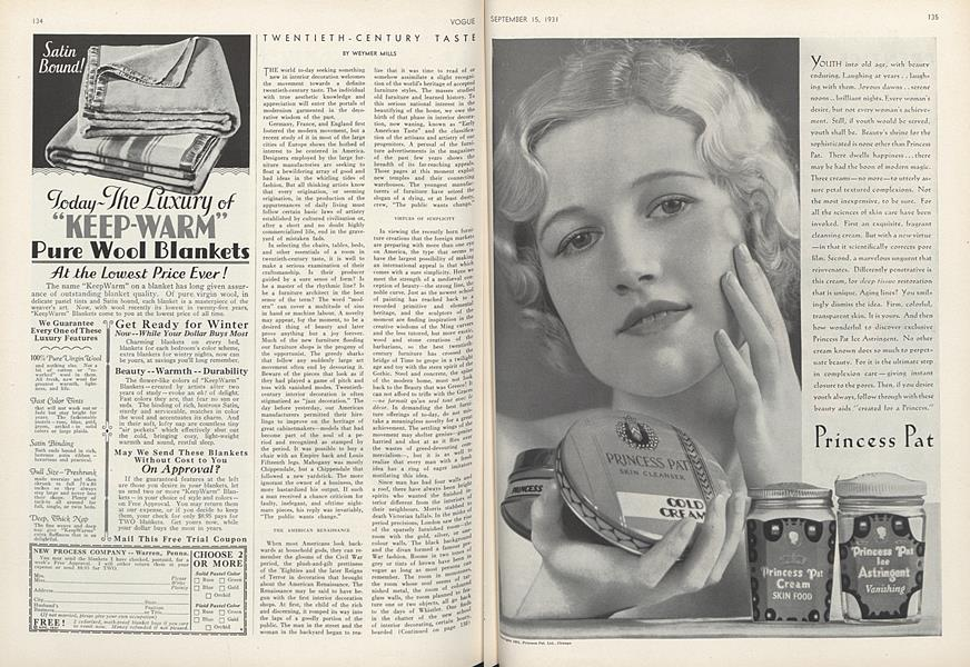Twentieth-Century Taste