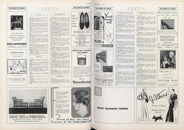 Article Preview: , October 1 1931 | Vogue