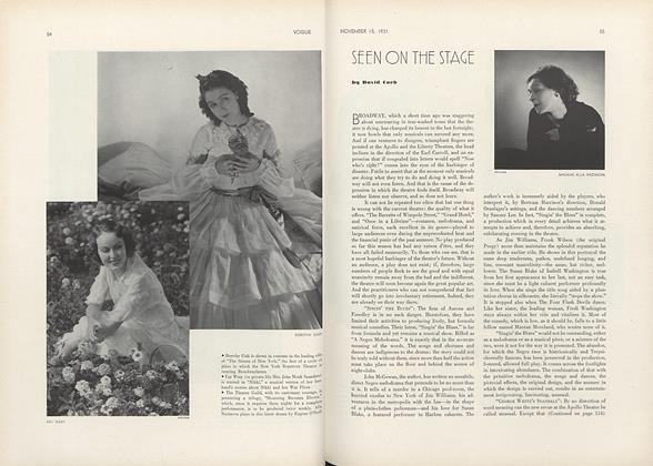 Article Preview: , November 15 1931 | Vogue