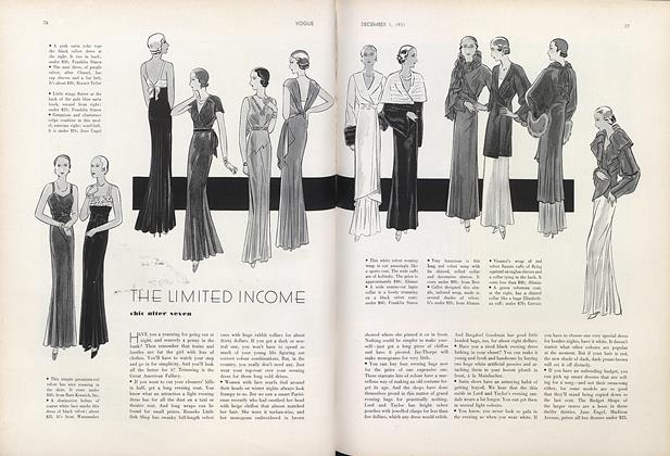 The Limited Income: Chic after Seven