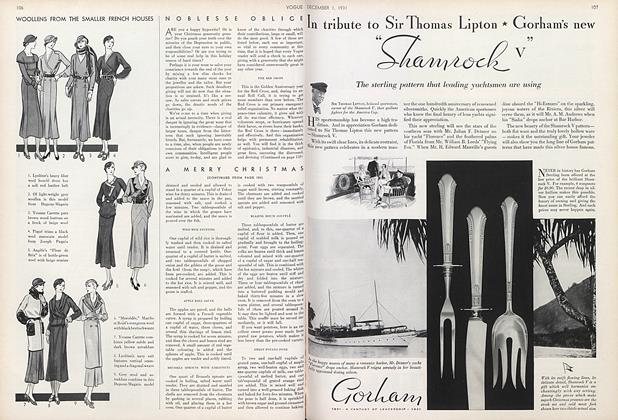 Article Preview: , December 1 1931 | Vogue
