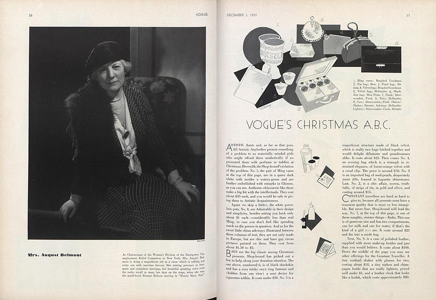 Vogue's Christmas A.B.C.