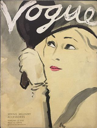 Cover for the February 15 1932 issue