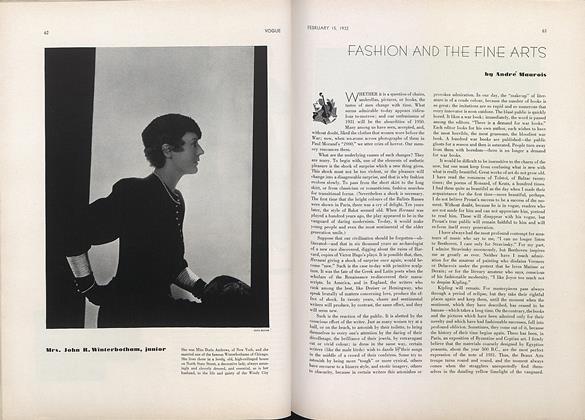 Fashion and the Fine Arts