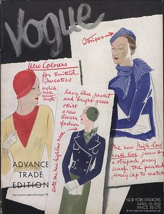 Cover for the April 15 1932 issue