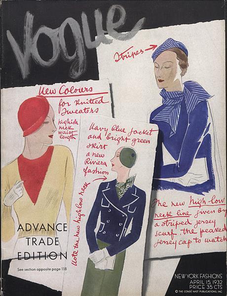 Issue: - April 15 1932   Vogue