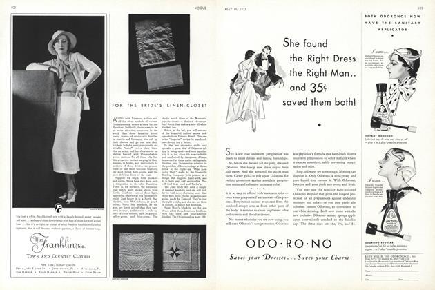 For the Bride's Linen-Closet