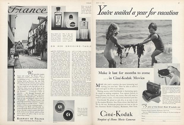 Article Preview: , July 1 1932 | Vogue