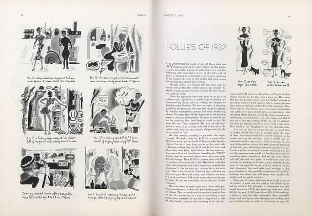 Follies of 1932