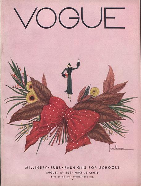 Issue: - August 15 1932 | Vogue