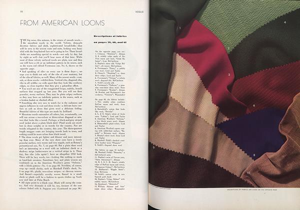 From American Looms