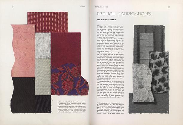 French Fabrications for a New Season