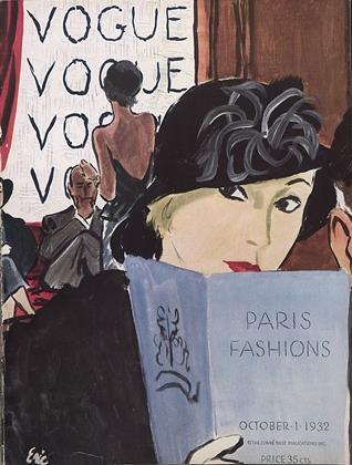 Cover for the October 1 1932 issue
