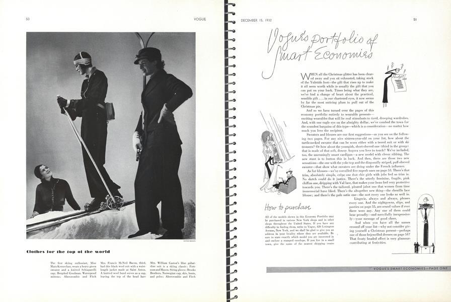 Vogue's Portfolio of Smart Economies