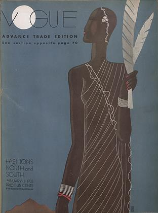 Cover for the January 1 1933 issue