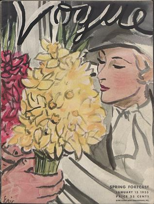 Cover for the January 15 1933 issue