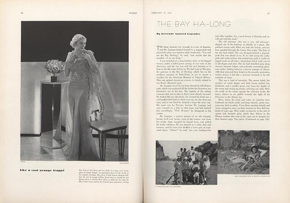 Article Preview: The Bay Ha-Long, February 15 1933 | Vogue