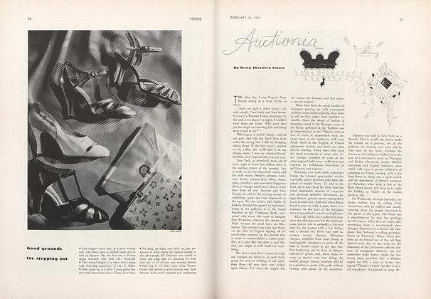 Article Preview: Auctionia, February 15 1933 | Vogue