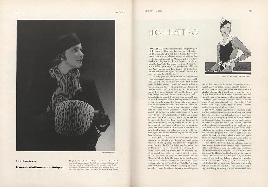 High-Hatting