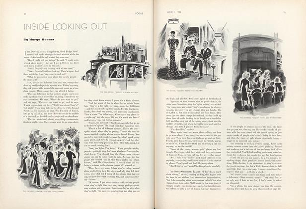 Article Preview: Inside Looking Out, June 1 1933 | Vogue