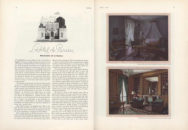 L'Hotel de Parieu: Portraits of a House