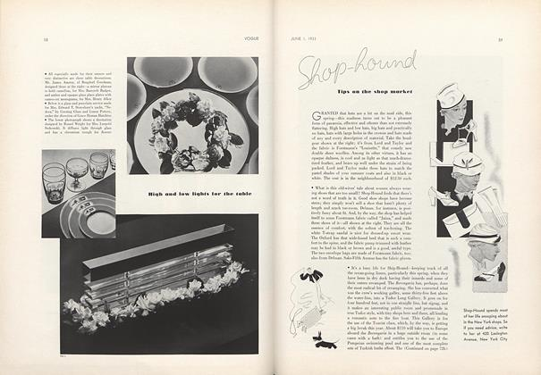 Article Preview: Shop-Hound: Tips on the Shop Market, June 1 1933 | Vogue