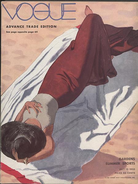 Issue: - July 15 1933   Vogue