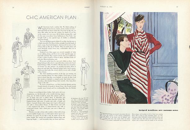 Chic, American Plan