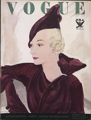 SEPTEMBER 1, 1933 | Vogue