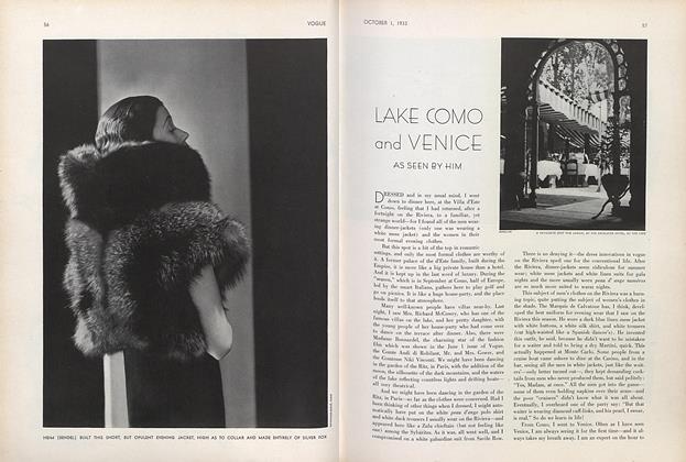 Lake Como and Venice