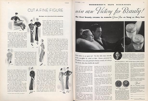 Cut a Fine Figure, Self-Made Glamour