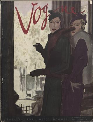NOVEMBER 1, 1933 | Vogue