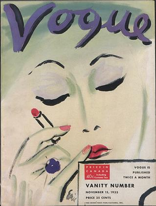 Cover for the November 15 1933 issue