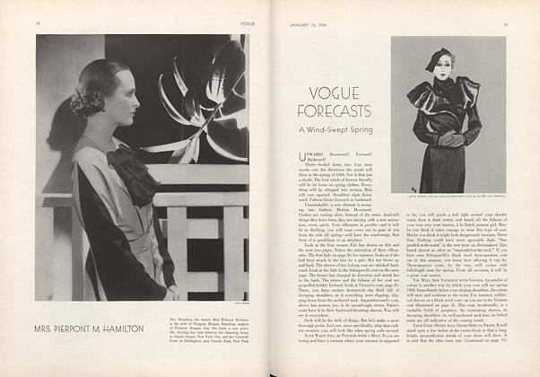 Vogue Forecasts a Wind-Swept Spring