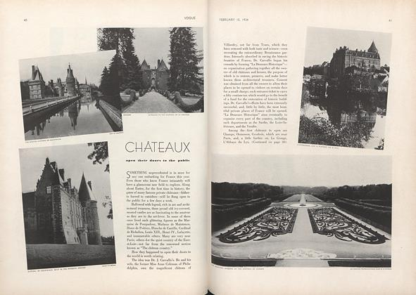 Chateaux Open Their Doors to the Public