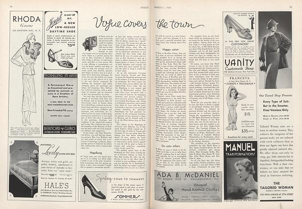Article Preview: , March 1 1934 | Vogue