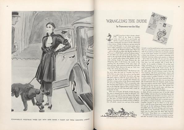 Article Preview: Wrangling the Dude, March 1 1934 | Vogue