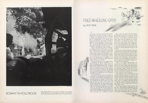Article Preview: Free-Wheeling Gipsy, July 15 1934 | Vogue
