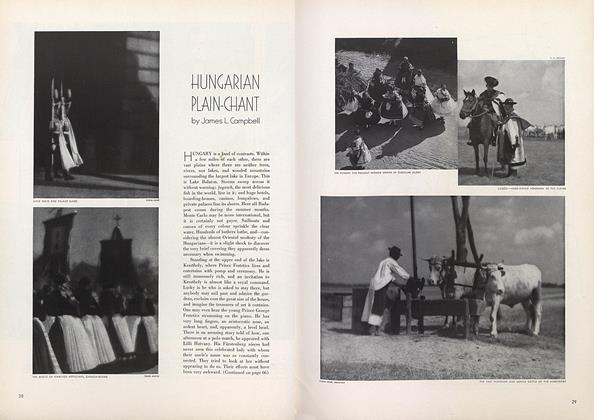 Article Preview: Hungarian Plain-Chant, July 15 1934 | Vogue