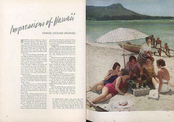 Impressions of Hawaii: Edward Steichen Speaking