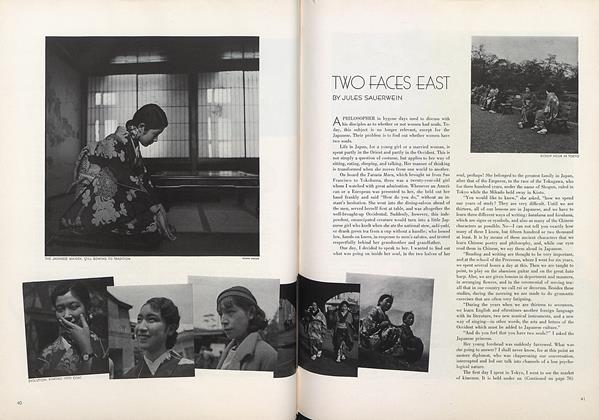 Two Faces East