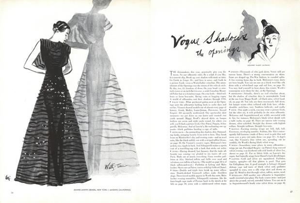 Vogue Shadows the Openings
