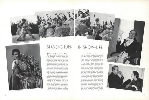 Season's Turn in Show-Life