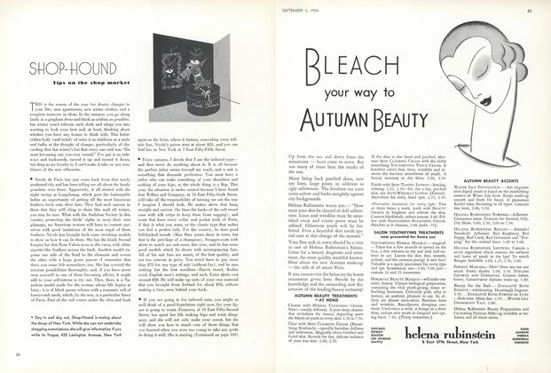 Article Preview: Shop-Hound: Tips on the Shop Market, September 1 1934 | Vogue