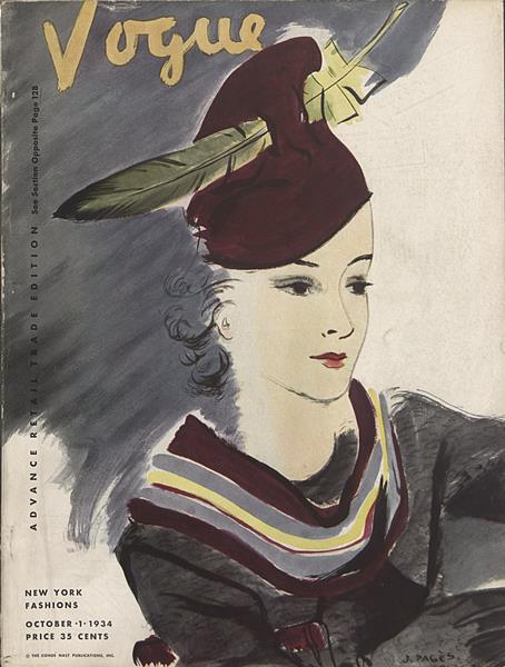 Issue: - October 1 1934 | Vogue