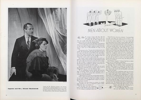 Article Preview: Men About Women, November 1 1934 | Vogue