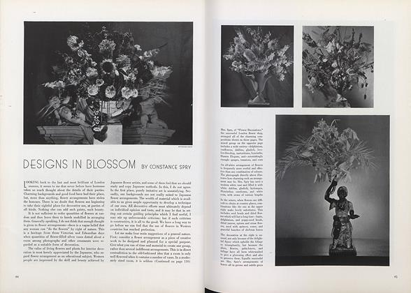 Article Preview: Designs in Blossom, November 1 1934 | Vogue